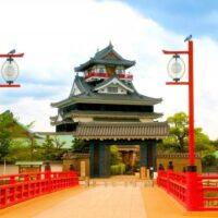 探偵が浮気調査のために愛知県清須市の清須城へ