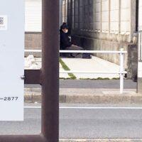 名古屋市内で見かけた探偵のアルバイトらしき人物
